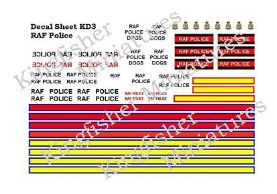 RAF Police Vehicle Markings